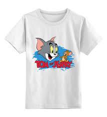 Детская футболка классическая унисекс <b>Том и Джерри</b> #2756286 ...