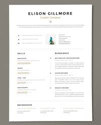 Resumes 2018 Improve Your Resume Template 24 To Get Noticed Modern Resumes 4