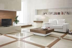 Marble Tile Floor Living Room Large Square Pattern White DMA Homes