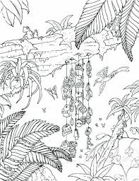 Tropical Forest Coloring Pages Best Coloring Pages Collection