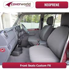 toyota fj cruiser wagon neoprene seat covers deluxe neoprene 15 series 03 mouse over to zoom image