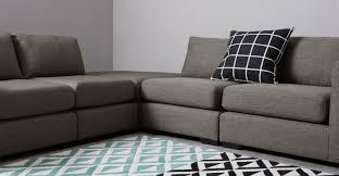 Modular Living Room Furniture Uk Mortimer Modular Corner Sofa Group Chalk Grey Madecom