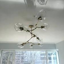 bubble glass chandelier bubble glass chandeliers bubble glass chandelier diy