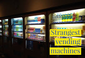 Self Service Vending Machines Extraordinary SelfService Technology The Strangest Vending Machines