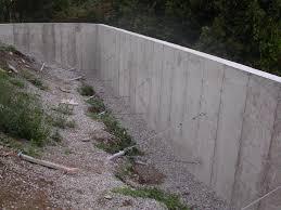 ancd retaining wall concrete retaining wall gallery