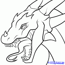 Small Picture Coloring Pages Draw A Simple Dragon Real Baby Chinese Dragon