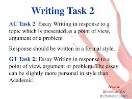 Presentation On Ielts Writing Course Powerpoint Slides