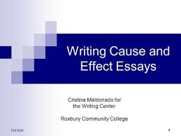 cause and effect essay ppt video online writing cause and effect essays