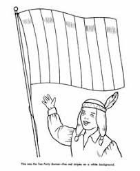 Small Picture Revoltionary War Minutemen Coloring Page School History
