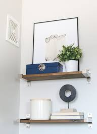 how to style bathroom shelves diy playbook