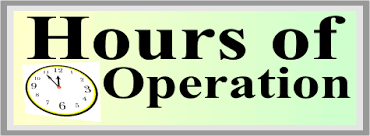 Image result for hours of operation