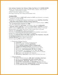 Resume For Lab Technician Lab Technician Resume Resume Format Lab Best Lab Technician Resume