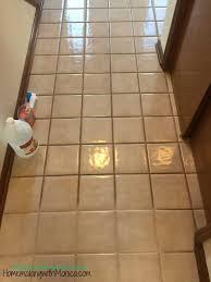 how to clean tile floors with vinegar and baking soda diy ceramic tile floor cleaner