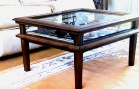 Delightful Useful Coffee Table With Glass Display Case With Home Design Ideas With Coffee  Table With Glass Display Case Awesome Design