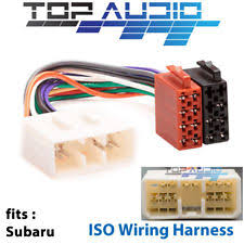 car audio video wire harnesses for subaru for subaru liberty outback iso wiring harness radio cable adaptor wire loom plug