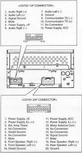 toyota car radio stereo audio wiring diagram autoradio connector best of pioneer