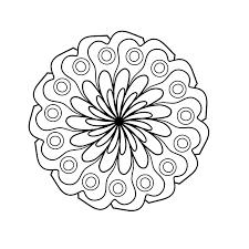 Mandala Kleurplaat Kleurplaten Gratis Afbeelding Op Pixabay