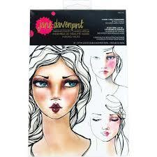 Face Charts For Sale Jane Davenport Making Faces Face Charts I Came I Saw I Contoured Jdm 036