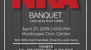 Events Nra Banquet 1 Muskogee Civic Center