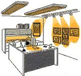 home office lighting design. designing with light in the home office lighting design