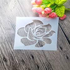 Stenciling Spray Paint Full Of Flowers Scrapbooking Tool Card Diy Album Masking Spray Paint