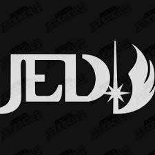 Star Wars - Jedi logo – Chino Stencils