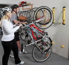 Perky Overhead Horizontal Bike Rackto Maximize Space Photos Above Bike  Storage Ideas Along With Give Star