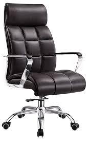 La plupart de chaise confortable de bureau de cuir d'unité centrale ...