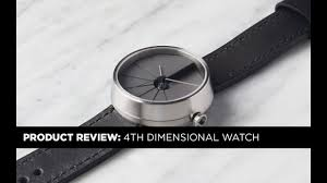22 Design Studio 4th Dimension Clock Product Review 4th Dimension 4d Watch By 22 Design Studio