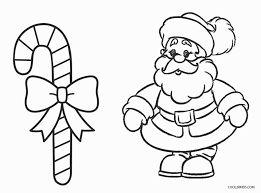 christmas candy cane coloring pages. Christmas Candy Cane Coloring Pages With