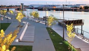 home depot green bay riverfront landscape design fox riverfront and the green bay from