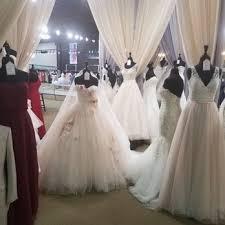 photo of anya bridal atlanta ga united states display of wedding gowns