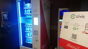 Vending Machine Magazine Fascinating Civic Demos Proof Of Concept With Beer Vending Machines Launches ID