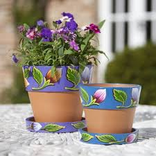 1 Indoor and outdoor garden flower pots design