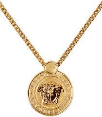versace gold medusa necklace men versace jewelry est
