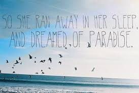 Beautiful Paradise Quotes Best Of Coldplay Paradise Quotes On We Heart It