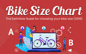Bike Size Chart Infographic Get The Right Size In 2 Minutes