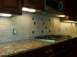 7 photos of the under cabinets lighting