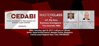 Masterclass On Iot Big Data And Business Intelligence The Business Analytics Mba In Bangalore