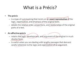 writing and editing services help writing a precis