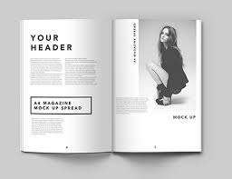 Magazine Template Psd 40 Magazine Mockups Templates For Free Download 2019