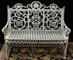 white wrought iron garden furniture. Full Size Of Bench:regency Wrought Iron Garden Bench The Cotswold Art Antique White Metal Furniture N