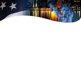 Us Flag Powerpoint Statue Of Liberty Backgrounds For