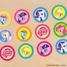 Small Picture FREE My Little Pony Birthday Party Printables Kids Party Time