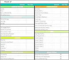 Expense Spreadsheet Templates Weekly Expenses Spreadsheet Rocket League Templates Excel