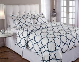 amazoncom echelon quatrefoil king duvet cover set midnight