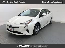 2018 New Toyota Prius Four at Round Rock Toyota Serving Austin ...