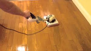 shark sonic duo hardwood polishing demo you