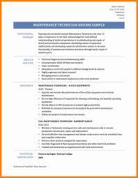 Hvac Technician Resume Examples Sample Computer Template Job