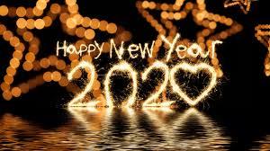 Happy New Year 2020 Hd Wallpaper 4k For Desktop